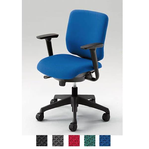 オカムラ チェア CG-R(シージーアール) ネオブラックシェル ローバックタイプ 布張り アジャストアーム [オフィスチェア 事務用チェア オフィス家具 チェア 椅子 イス 事務椅子 デスクチェア パソコンチェア]