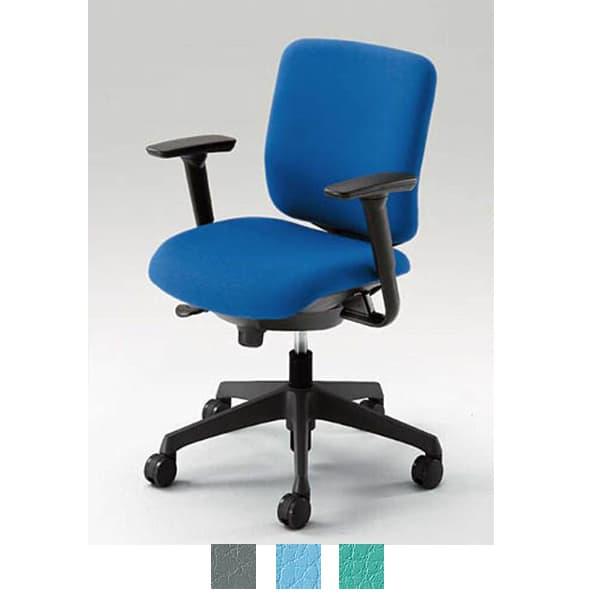 オカムラ チェア CG-R(シージーアール) ネオブラックシェル ローバックタイプ ビニール張り アジャストアーム [オフィスチェア 事務用チェア オフィス家具 チェア 椅子 イス 事務椅子 デスクチェア パソコンチェア]