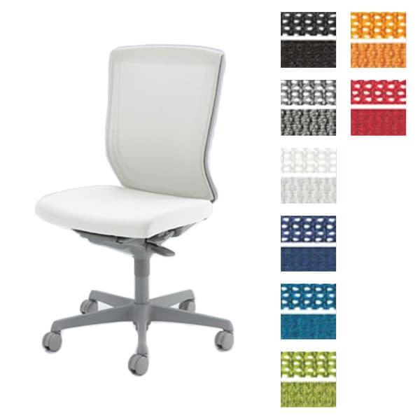オカムラ チェア ESCUDO(エスクード) mesh (メッシュタイプ) グレーシェル ハイバック 肘なし ウレタンキャスター [オフィスチェア 事務用チェア オフィス家具 チェア 椅子 イス 事務椅子 デスクチェア パソコンチェア 高機能 エスクード]
