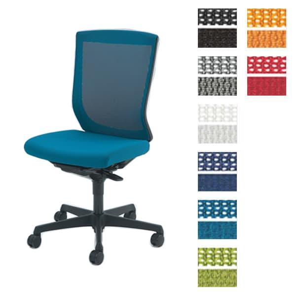 オカムラ チェア ESCUDO(エスクード) mesh (メッシュタイプ) ブラックシェル ハイバック 肘なし 双輪キャスター [オフィスチェア 事務用チェア オフィス家具 チェア 椅子 イス 事務椅子 デスクチェア パソコンチェア 高機能 エスクード]