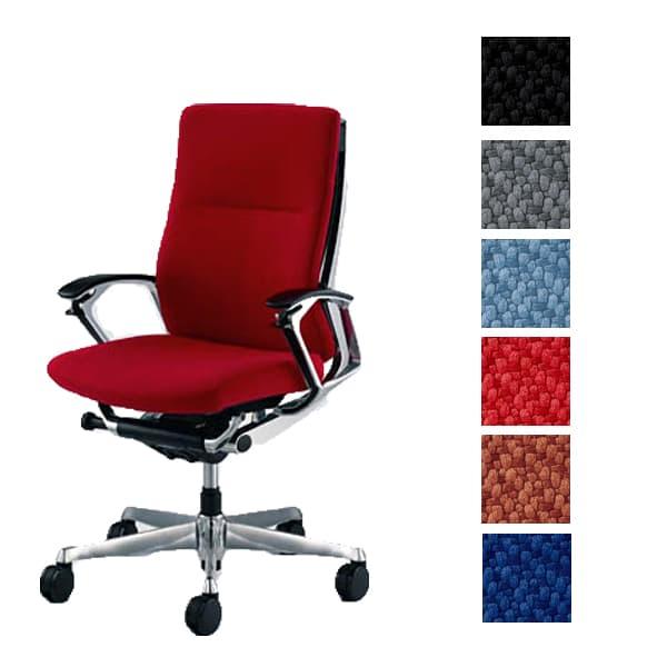 オカムラ チェア Duke(デューク) ハイバックタイプ シルバーフレーム 布 PETリサイクル [オフィスチェア 事務用チェア オフィス用品 オフィス用 オフィス家具 チェア 椅子 イス 事務椅子 デスクチェア パソコンチェア 高機能]