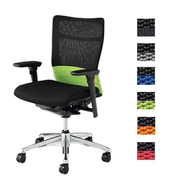 オカムラ チェア Feego mesh(フィーゴメッシュ) スタンダードタイプ 可動肘 [オフィスチェア 事務用チェア オフィス用品 オフィス用 オフィス家具 チェア 椅子 イス 事務椅子 デスクチェア パソコンチェア 高機能]