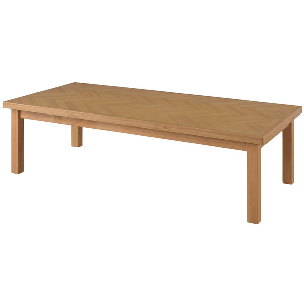 東谷 こたつテーブル W130×D60×H36/40cm ナチュラル KT-113NA