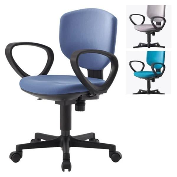 アイリスチトセ オフィスチェア オフィス回転チェア BIT-EXシリーズ ループ肘 BIT-EX43L1-F [オフィスチェア 事務用チェア オフィス用品 オフィス用 オフィス家具 チェア 椅子 イス 事務椅子 デスクチェア パソコンチェア]