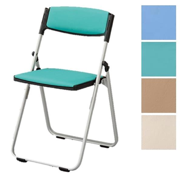 アイリスチトセ 折りたたみ椅子 垂直スタッキングチェア CAL-Xシリーズ アルミフレーム コンパクトタイプ 背・座パッド 軽量 CAL-X03S-V [学校 公民館 チェア いす 椅子 集会場 業務用 ミーティングチェア 会議用椅子 会議イス 会議室 オフィス家具 折りたたみチェア]