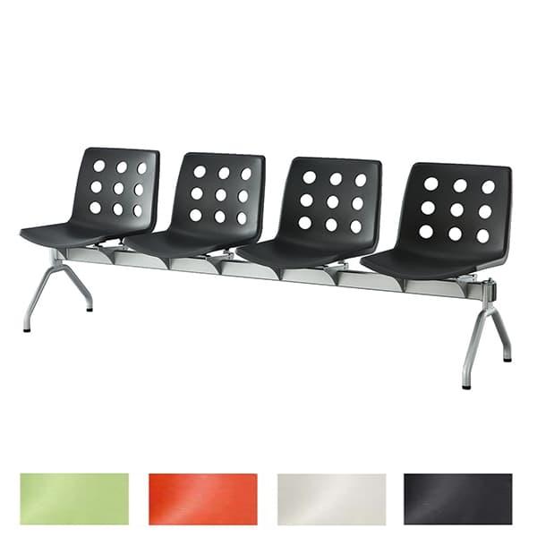 アイリスチトセ ロビーベンチ プリベンチ W1920×D530×H726(SH390)mm CPCB-V4 [いす イス 椅子 ロビー 受付 ロビーソファ チェア ベンチ オフィス家具 オフィス用 オフィス用品]