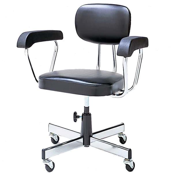 生興 Tシリーズ 背ロッキングタイプ ネジ上下式 肘付 ビニールレザー張り T230C [オフィスチェア 事務用チェア オフィス用品 オフィス用 オフィス家具 チェア 椅子 イス 事務椅子 デスクチェア パソコンチェア]