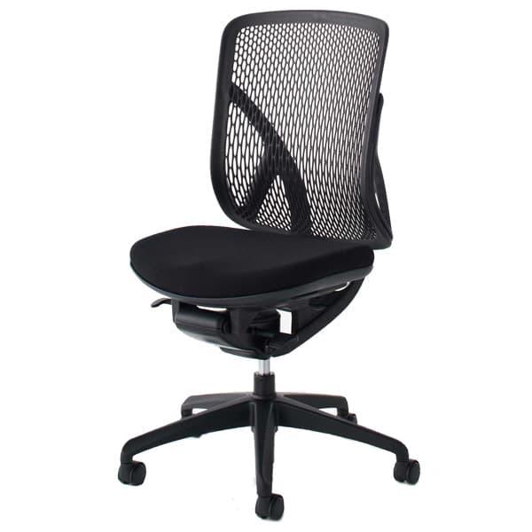 生興 イエラチェアー ハイバック 肘なしタイプ クロスカバータイプ SV-100 [黒色 オフィスチェア 事務用チェア オフィス用品 オフィス用 オフィス家具 チェア 椅子 イス 事務椅子 デスクチェア パソコンチェア 高機能]