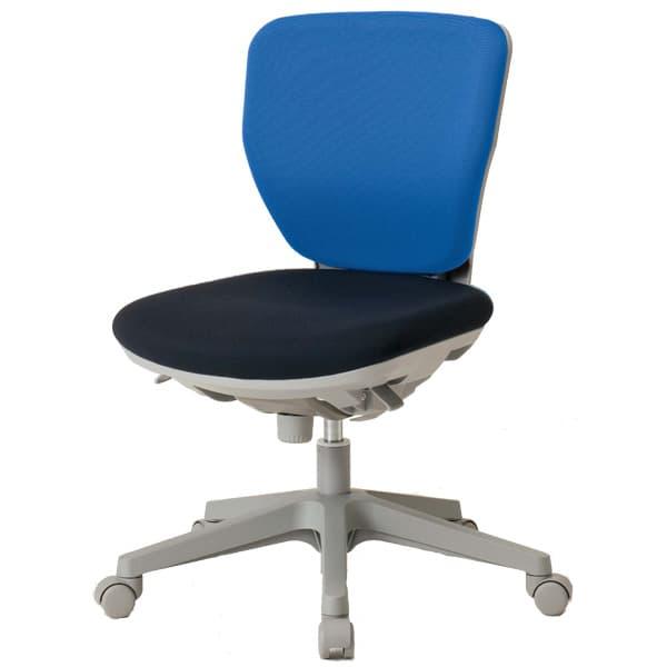 生興 ピエーノチェアー NXCシリーズ ツートンシートタイプ ローバック 肘なし NXC-400F [オフィスチェア 事務用チェア オフィス用品 オフィス用 オフィス家具 チェア 椅子 イス 事務椅子 デスクチェア パソコンチェア 高機能]