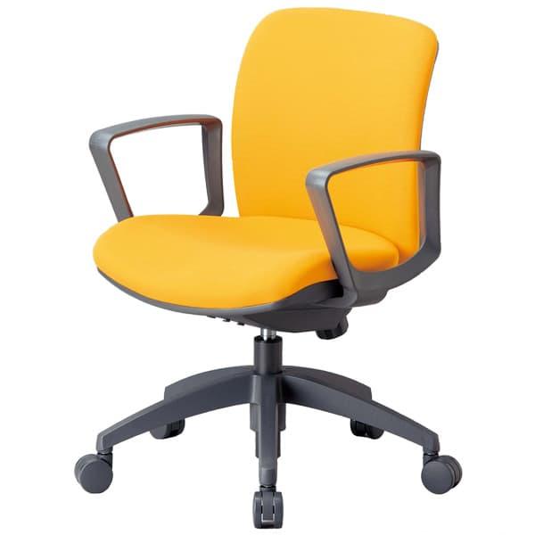 生興 OA-2100シリーズ 背ロッキングタイプ ローバック サークル肘付 OA-2115BF [オフィスチェア 事務用チェア オフィス用品 オフィス用 オフィス家具 チェア 椅子 イス 事務椅子 デスクチェア パソコンチェア 高機能]