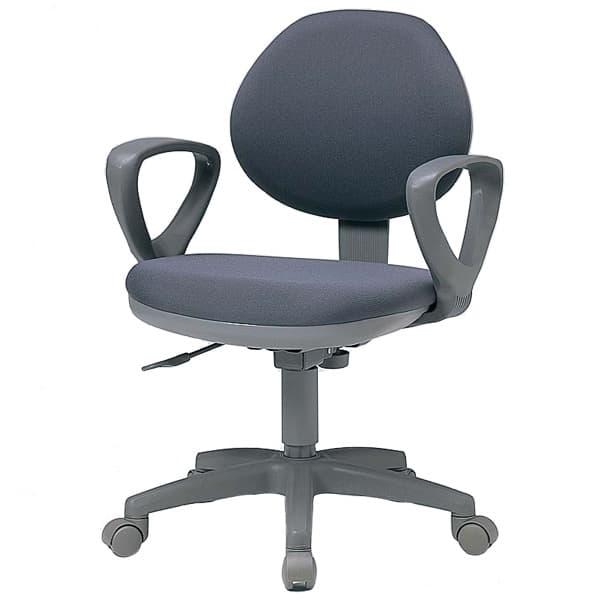 生興 CHIチェアー 背ロッキングタイプ 肘付 布張り CHI-2 [いす オフィスチェア 事務用チェア オフィス用品 オフィス用 オフィス家具 チェア 椅子 イス 事務椅子 デスクチェア パソコンチェア]