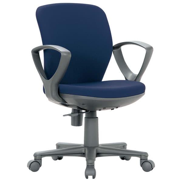 生興 OA-1000シリーズ 背ロッキングタイプ 肘付 ビニールレザー張り OA-1055EJV [オフィスチェア 事務用チェア オフィス用品 オフィス用 オフィス家具 チェア 椅子 イス 事務椅子 デスクチェア パソコンチェア]