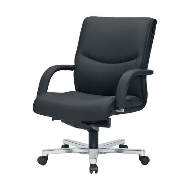 生興 エグゼクティブ用チェアー RA-9200シリーズ ローバック 布張り RA-9205F [オフィスチェア エグゼクティブチェア 事務用チェア オフィス用品 オフィス用 オフィス家具 チェア 椅子 イス 事務椅子 デスクチェア パソコンチェア]