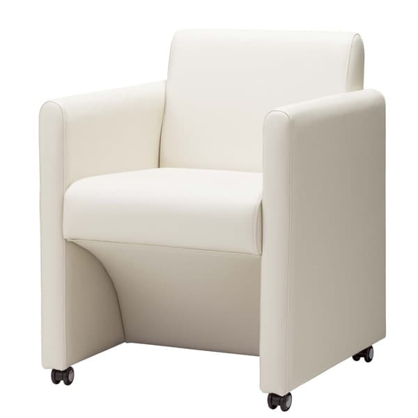 生興 ミーティングチェアー MCD-520シリーズ 肘付 ビニールレザー張り MCD-520VC [会議イス ミーティングチェア 学校 体育館 公民館 チェア いす 椅子 集会場 業務用 会議用椅子 会議椅子 会議室 オフィス家具]