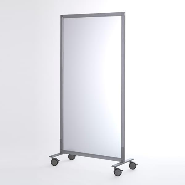 R・Fヤマカワ シンプルスクリーン フロスト (キャスター仕様) RFSCR-FRSCA [ボード パーテーション パーティション 仕切り 間仕切り 目隠し スクリーン パネルスクリーン 事務所 会議 打ち合わせ オフィス用品 オフィス用 オフィス家具]