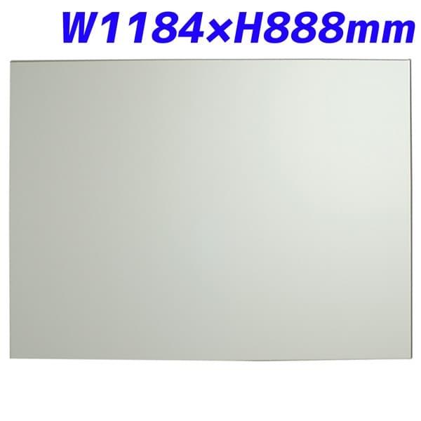 日学 メタルライン ホワイトボード フレームレス W1184×D10.9×H888mm ML-340 [パネル ボード パーテーション パーティション 仕切り 間仕切り 目隠し 壁掛ホワイトボード 事務所 会議 打ち合わせ オフィス家具]