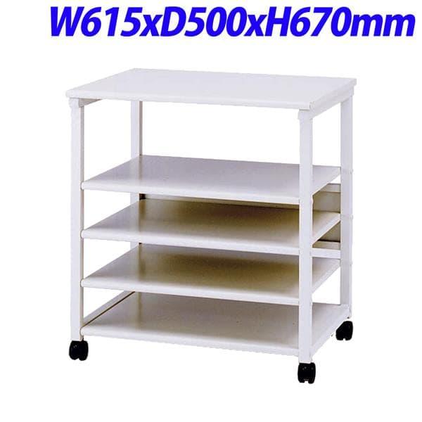 生興 プリンターラック W615×D500×H670mm NC-R650 [デスク デスク周り品 オフィス家具 オフィス用 オフィス用品]