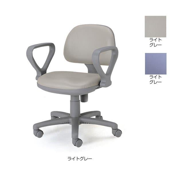 TOKIO FST-3オフィスチェア 肘付 レザー W585×D555×H747~837(SH435~525)mm FST-3AL [オフィスチェア 事務用チェア オフィス用品 オフィス用 オフィス家具 チェア 椅子 イス 事務椅子 デスクチェア パソコンチェア]