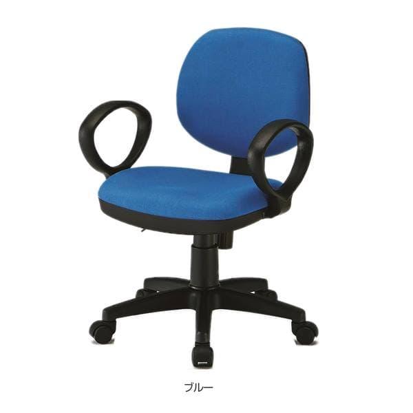 TOKIO FST-51オフィスチェア 肘付 布 W565×D545×H790~915(SH440~565)mm FST-51A [オフィスチェア 事務用チェア オフィス用品 オフィス用 オフィス家具 チェア 椅子 イス 事務椅子 デスクチェア パソコンチェア]