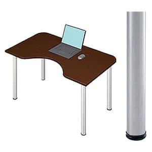 Garage パソコンデスク D2 D2-M-ST マホガニー [デザインデスク PCテーブル PCデスク デスク 机 テーブル 事務デスク オフィスデスク ワークデスク パソコン用デスク オフィス用品 オフィス用 オフィス家具]