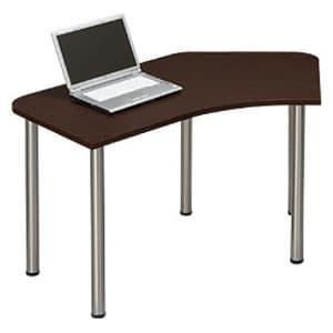 Garage パソコンデスク L型デスク D2 D2-CーST マホガニー [デザインデスク PCテーブル PCデスク デスク 机 テーブル 事務デスク オフィスデスク ワークデスク パソコン用デスク オフィス用品 オフィス用 オフィス家具]