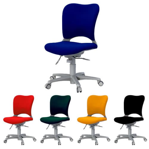 Garage パソコンチェア OC (PLUS オーバルチェア) ハイバック 前傾ポジション 肘なし OC-Z03SL [オフィスチェア 事務用チェア オフィス家具 チェア 椅子 イス 事務椅子 デスクチェア パソコンチェア 高機能]