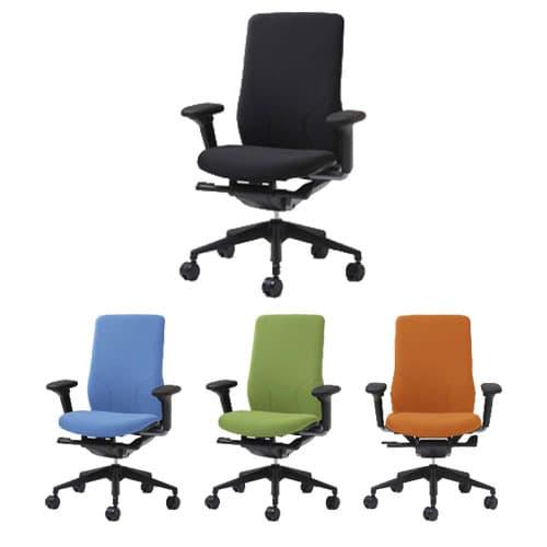 Garage PLUS パソコンチェア Beチェア 肘付き 肘付 KD-MA61SL [いす オフィスチェア 事務用チェア オフィス用品 オフィス用 オフィス家具 チェア 椅子 イス 事務椅子 デスクチェア パソコンチェア 高機能]