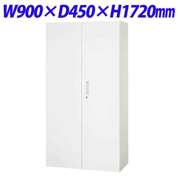 豊富なバリエーションを揃え 使いやすさと安全性 耐震性を考慮したシステム収納家具 ライオン事務器 デリカウォール Vシリーズ 両開型 新色 2020 新作 下置専用 W900×D450×H1720mm ホワイト V945-18H 下置用 オフィス収納 壁面家具 スチール書庫 両開き書庫 白色 収納家具 オフィス家具 別売ベース必須 書庫 壁面収納