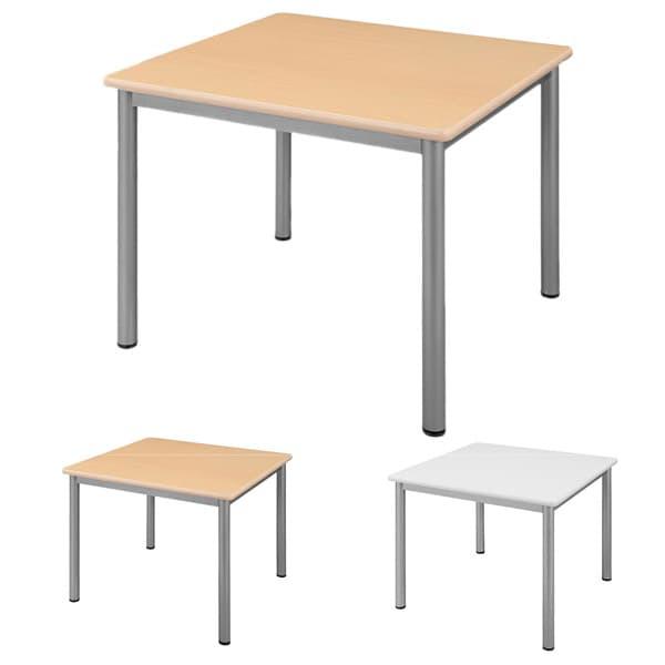 ミーティングテーブル TLシリーズ W900×D900 TL9090 [会議用テーブル 会議テーブル スタックテーブル ハイテクウッド 正方形 オフィス家具 オフィス用 オフィス用品]