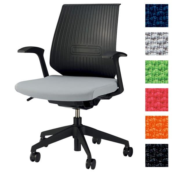 ライオン事務器 オフィスチェアー セルビィ No.3106F [いす オフィスチェア 事務用チェア オフィス用品 オフィス用 オフィス家具 チェア 椅子 イス 事務椅子 デスクチェア パソコンチェア 高機能]