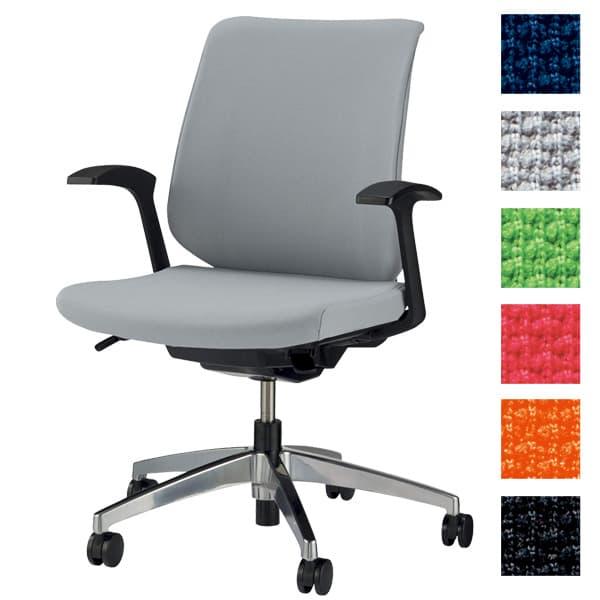 【受注生産品】ライオン事務器 オフィスチェアー セルビィ No.3131F [いす オフィスチェア 事務用チェア オフィス用品 オフィス用 オフィス家具 チェア 椅子 イス 事務椅子 デスクチェア パソコンチェア 高機能]