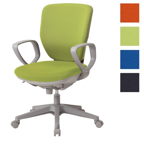 サンケイ オフィスチェア 回転椅子 ガススプリング上下調節 キャスター付 ハイバック 肘付 布張り CO253-MYB [事務用チェア オフィス家具 チェア 椅子 イス 事務椅子 デスクチェア パソコンチェア スタンダード 高機能]