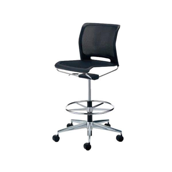 コクヨ(KOKUYO) オフィスチェア ミーティングチェア Caravel(カラベル) CR-FGM645E6GLE6-V [会議イス 学校 体育館 公民館 チェア いす 椅子 集会場 業務用 会議用椅子 会議椅子 会議室 オフィス家具 オフィス用 オフィス用品]