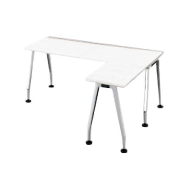 コクヨ(KOKUYO) L型デスク SAIBI(サイビ) W1600×D1400×H720mm SD-XE16714APMPAW【別途 組立費必須】 [ワーキングテーブル ワークテーブル テーブル ミーティングテーブル 長方形 オフィス家具 会議テーブル 会議用テーブル 会議机 オフィステーブル]