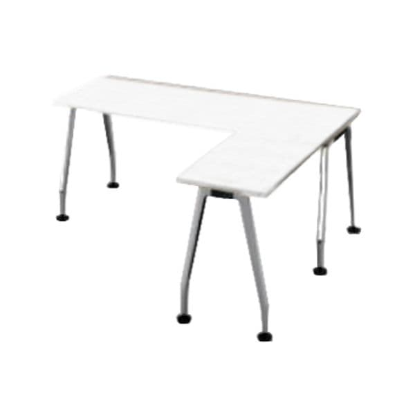 コクヨ(KOKUYO) L型デスク SAIBI(サイビ) W1600×D1600×H720mm SD-XE16816AS81PAW【別途 組立費必須】 [ワーキングテーブル ワークテーブル テーブル ミーティングテーブル 長方形 オフィス家具 会議テーブル 会議用テーブル 会議机 オフィステーブル]