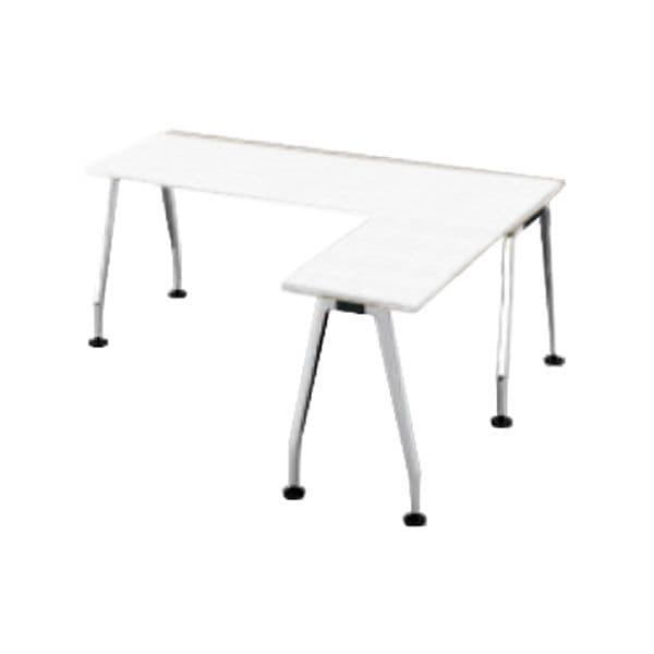 コクヨ(KOKUYO) L型デスク SAIBI(サイビ) W1800×D1600×H720mm SD-XE18716APMPAW【別途 組立費必須】 [ワーキングテーブル ワークテーブル テーブル ミーティングテーブル 長方形 オフィス家具 会議テーブル 会議用テーブル 会議机 オフィステーブル]
