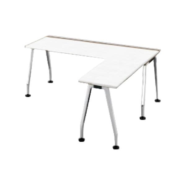 コクヨ(KOKUYO) L型デスク SAIBI(サイビ) W1800×D1800×H720mm SD-XE18718APMPAW【別途 組立費必須】 [ワーキングテーブル ワークテーブル テーブル ミーティングテーブル 長方形 オフィス家具 会議テーブル 会議用テーブル 会議机 オフィステーブル]