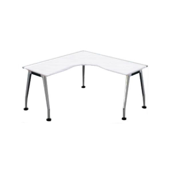 コクヨ(KOKUYO) L型デスク SAIBI(サイビ) W1600×D1600×H720mm SD-XL1616AS81PAW【別途 組立費必須】 [ワーキングテーブル ワークテーブル テーブル ミーティングテーブル 長方形 オフィス家具 会議テーブル 会議用テーブル 会議机 オフィステーブル]