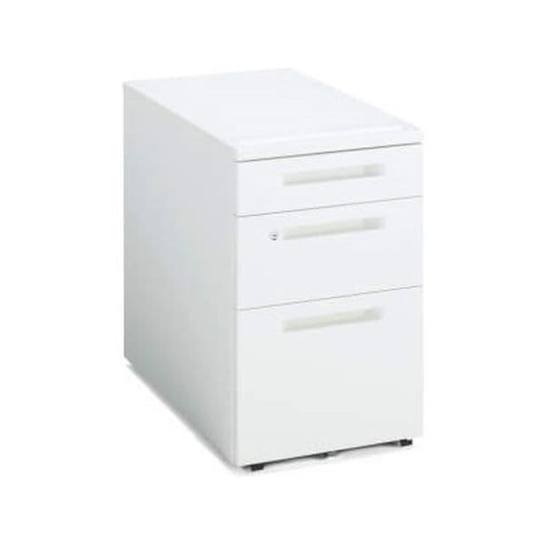 コクヨ(KOKUYO) ワゴン iS(アイエス) W395×D602×H600mm SD-IS46C3SAWN4 [キャビネット デスク デスク収納 脇机 収納家具 オフィス収納 オフィス家具 オフィス用 オフィス用品]