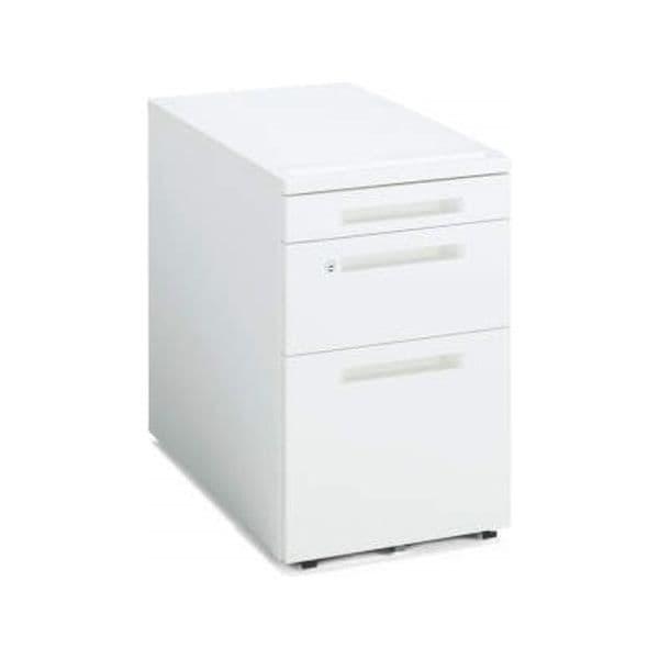 コクヨ(KOKUYO) ワゴン iS(アイエス) W395×D600×H610mm SD-IS46V3SAWN4 [キャビネット デスク デスク収納 脇机 収納家具 オフィス収納 オフィス家具 オフィス用 オフィス用品]