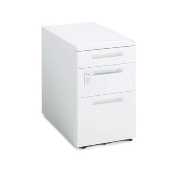 コクヨ(KOKUYO) ワゴン iS(アイエス) W395×D602×H600mm SD-IS46DV3SAWNN [キャビネット デスク デスク収納 脇机 収納家具 オフィス収納 オフィス家具 オフィス用 オフィス用品]