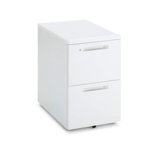 コクヨ(KOKUYO) ワゴン iS(アイエス) W395×D602×H600mm SD-IS46A2SAWN4 [キャビネット デスク デスク収納 脇机 収納家具 オフィス収納 オフィス家具 オフィス用 オフィス用品]