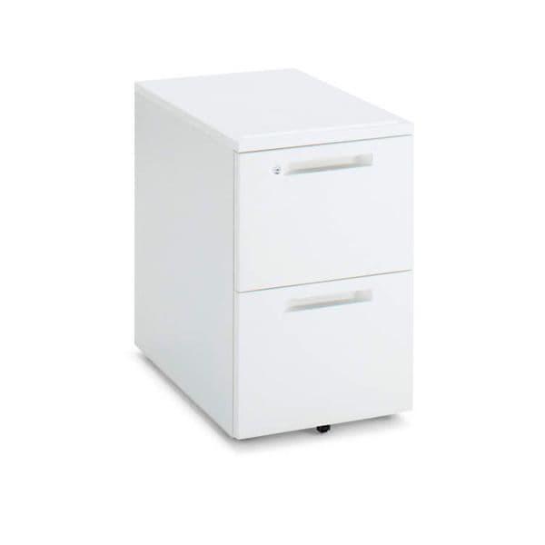 コクヨ(KOKUYO) ワゴン iS(アイエス) W395×D578×H600mm SD-IS458A2SAWN3 [キャビネット デスク デスク収納 脇机 収納家具 オフィス収納 オフィス家具 オフィス用 オフィス用品]