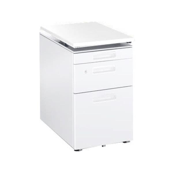 コクヨ(KOKUYO) ワゴン GT(ジーティー) W410×D580×H648~798mm SD-GTS46V3SAWPAWN4 [キャビネット デスク デスク収納 脇机 収納家具 オフィス収納 オフィス家具 オフィス用 オフィス用品]
