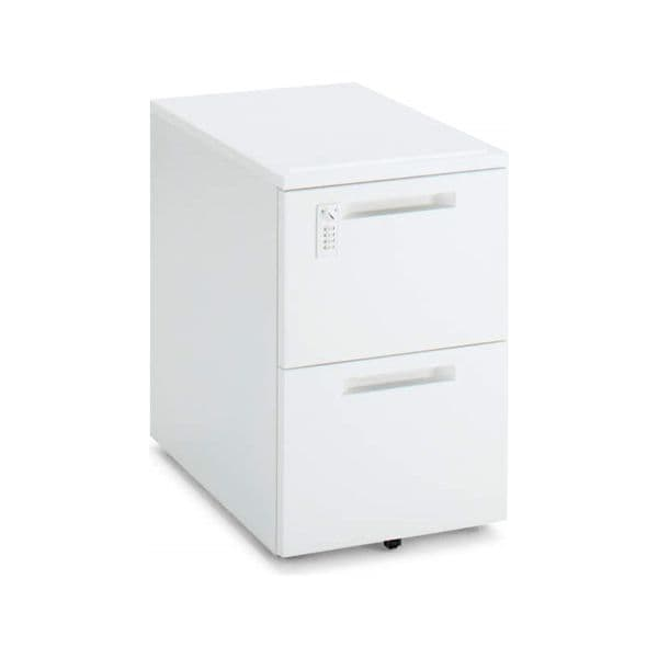 コクヨ(KOKUYO) ワゴン iS(アイエス) W395×D602×H600mm SD-IS46DA2SAWNN [キャビネット デスク デスク収納 脇机 収納家具 オフィス収納 オフィス家具 オフィス用 オフィス用品]