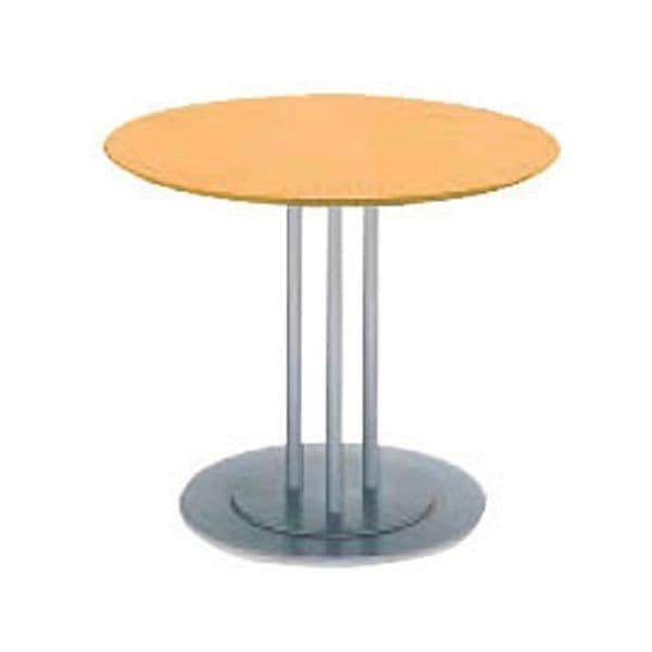 コクヨ(KOKUYO) ミーティングテーブル 円形 ATTESA(アテーザ) Φ900×D900×H700mm LT-216YP16N [会議用テーブル 会議テーブル 会議用デスク 会議デスク 休憩室 食堂 オフィス用 会議室 ワーキングテーブル 作業テーブル 作業机 テーブル]