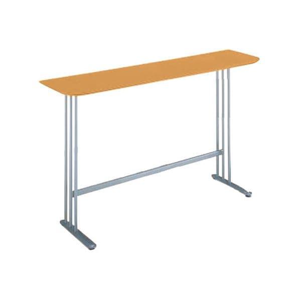 コクヨ(KOKUYO) ミーティングテーブル ATTESA(アテーザ) W1800×D450×H1000mm LT-206YKN [会議用テーブル 会議テーブル 会議用デスク 会議デスク 休憩室 食堂 オフィス用 会議室 ワーキングテーブル 作業テーブル 作業机 テーブル]