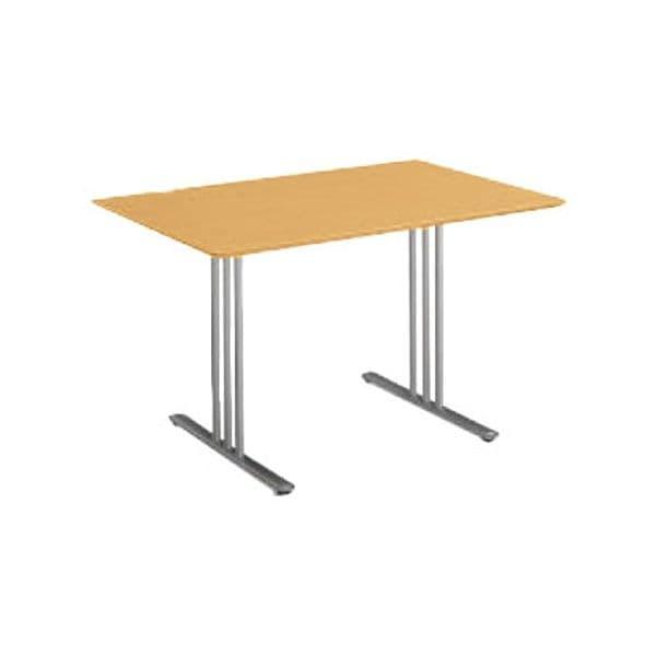 コクヨ(KOKUYO) ミーティングテーブル 長方形 ATTESA(アテーザ) W1200×D800×H700mm LT-210YP16N [会議用テーブル 会議テーブル 会議用デスク 会議デスク 休憩室 食堂 オフィス用 会議室 ワーキングテーブル 作業テーブル 作業机 テーブル]