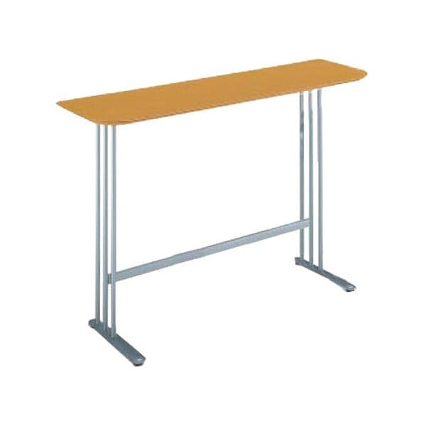 コクヨ(KOKUYO) ミーティングテーブル ATTESA(アテーザ) W1500×D450×H1000mm LT-205YKN [会議用テーブル 会議テーブル 会議用デスク 会議デスク 休憩室 食堂 オフィス用 会議室 ワーキングテーブル 作業テーブル 作業机 テーブル]