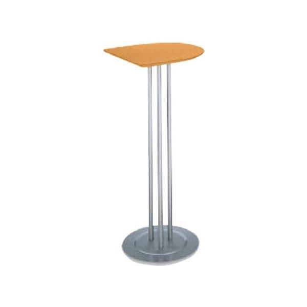 コクヨ(KOKUYO) ミーティングテーブル ATTESA(アテーザ) W450×D465×H1000mm LT-208YK [会議用テーブル 会議テーブル 会議用デスク 会議デスク 休憩室 食堂 オフィス用 会議室 ワーキングテーブル 作業テーブル 作業机 テーブル]
